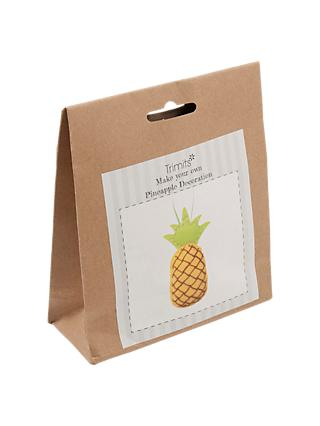 Trimits Pineapple Felt Craft Kit