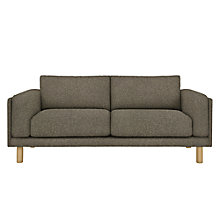 Buy Design Project by John Lewis No.002 Grand 4 Seater Sofa, Light Leg, Hatch Charcoal Online at johnlewis.com