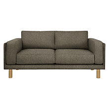 Buy Design Project by John Lewis No.002 Medium 2 Seater Sofa, Light Leg, Hatch Charcoal Online at johnlewis.com