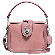 Buy Coach Page Embellished Leather Cross Body Bag Online at johnlewis.com