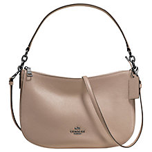Buy Coach Chelsea Pebble Leather Cross Body Bag Online at johnlewis.com
