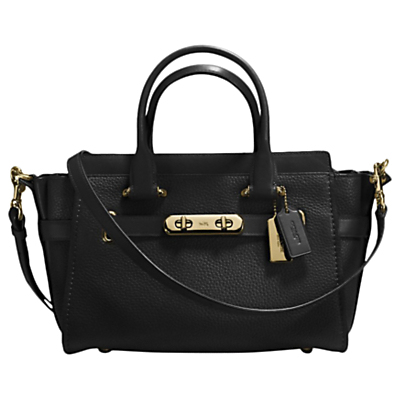 Coach Swagger 27 Leather Shoulder Bag