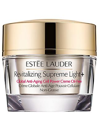 Estée Lauder Revitalising Supreme Light+ Global Anti-Ageing Cell Power Creme Oil-Free