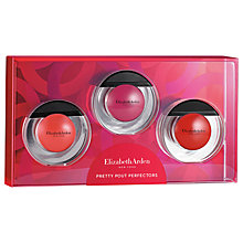 Buy Elizabeth Arden Pretty Pout Perfectors Sheer Bliss Lip Oil Makeup Gift Set Online at johnlewis.com