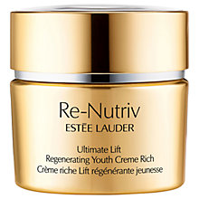 Buy Estée Lauder Re-Nutriv Ultimate Lift Regenerating Youth Creme Rich, 50ml Online at johnlewis.com
