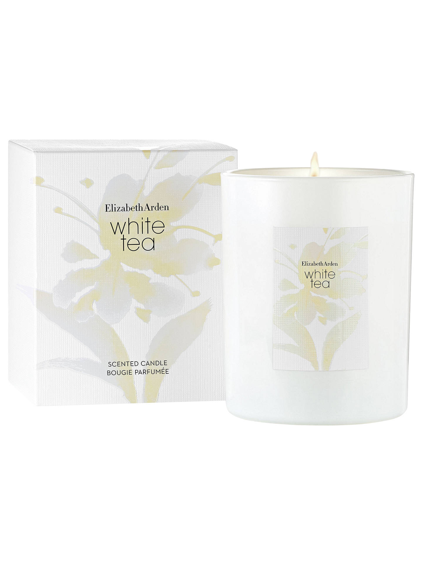 BuyElizabeth Arden White Tea Scented Candle, 226.8g Online at johnlewis.com