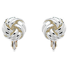 Buy Monet Knot Clip-On Earrings Online at johnlewis.com