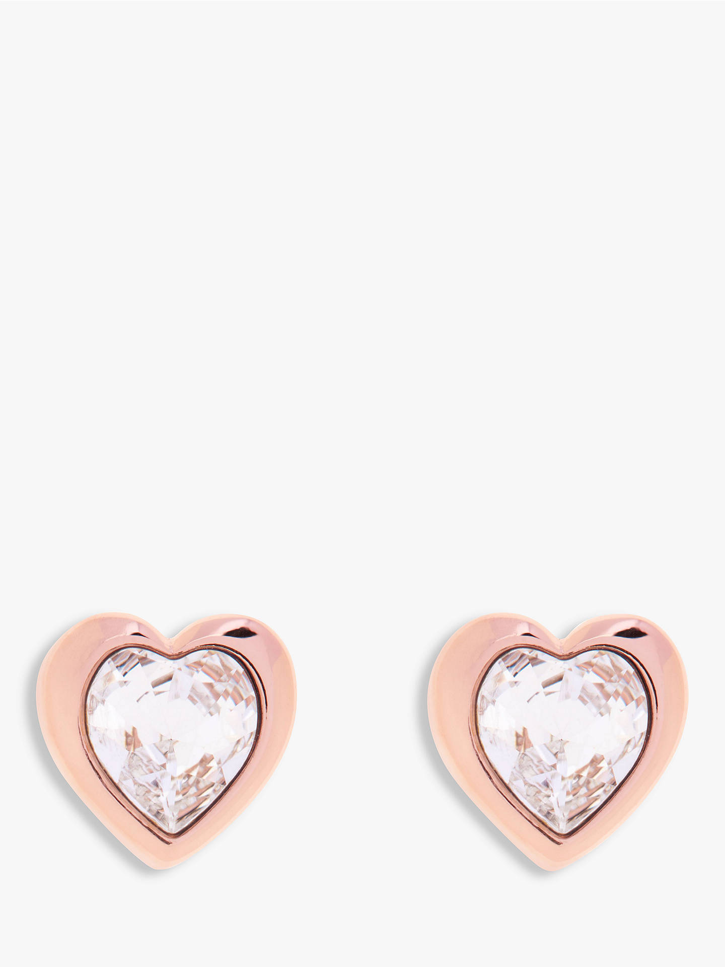 46aa1c0ee969 Ted Baker Hanella Swarovski Crystal Heart Stud Earrings at John ...