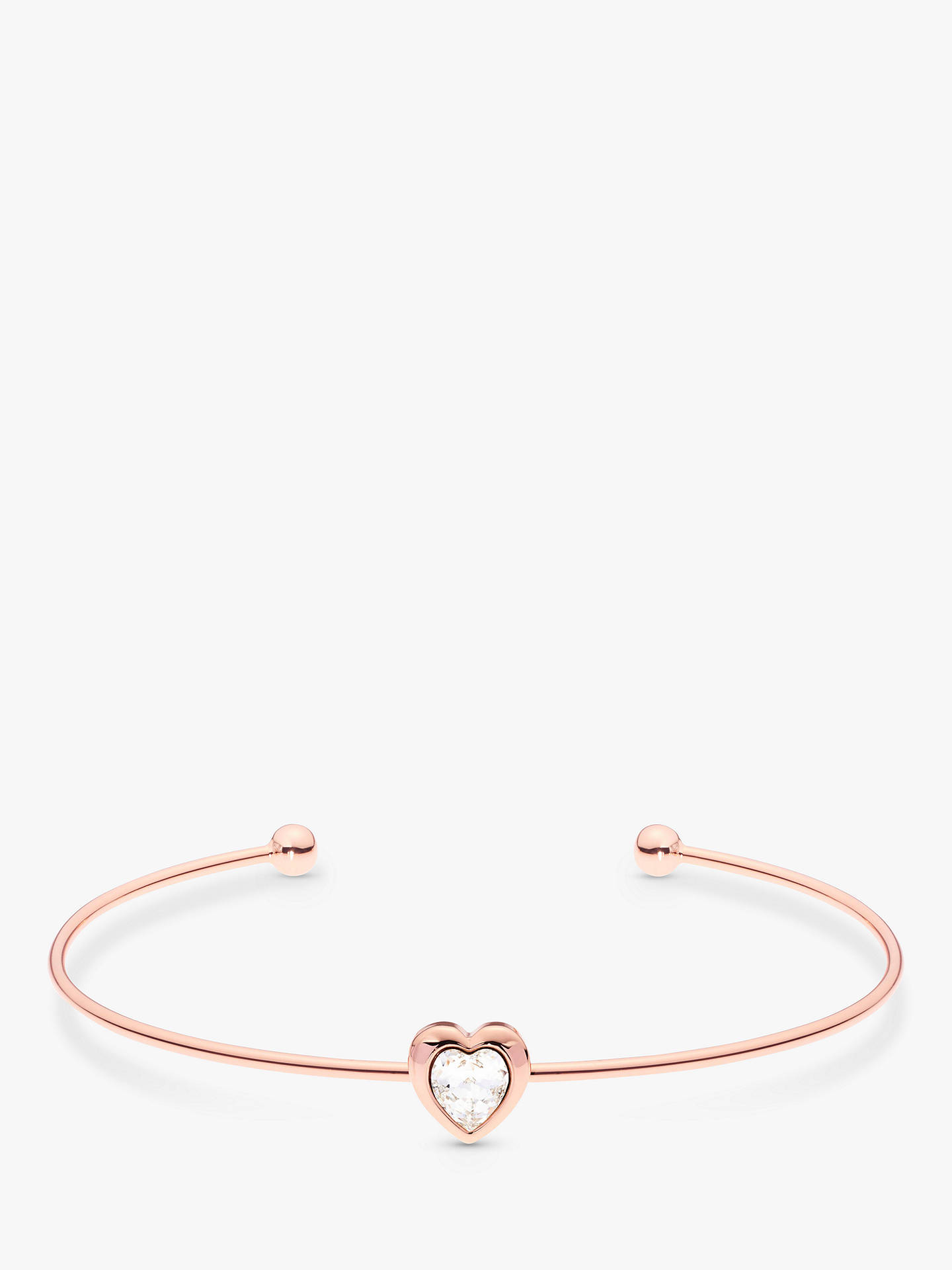 best price separation shoes pre order Ted Baker Hasina Crystal Heart Cuff at John Lewis & Partners