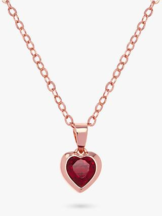 Ted Baker Hannela Swarovski Crystal Heart Necklace