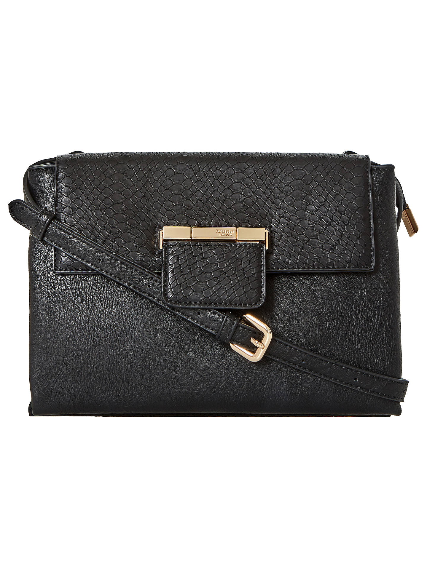 a8edcb41bc Dune Dethany Small Cross Body Bag at John Lewis   Partners