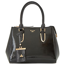Buy Dune Denvie Top Handle Patent Tote Bag Online at johnlewis.com