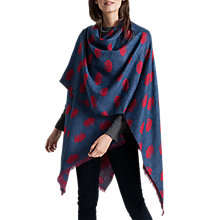 Buy Seasalt Awakening Wool Cape, Tip Tree Tulip Rudder Online at johnlewis.com