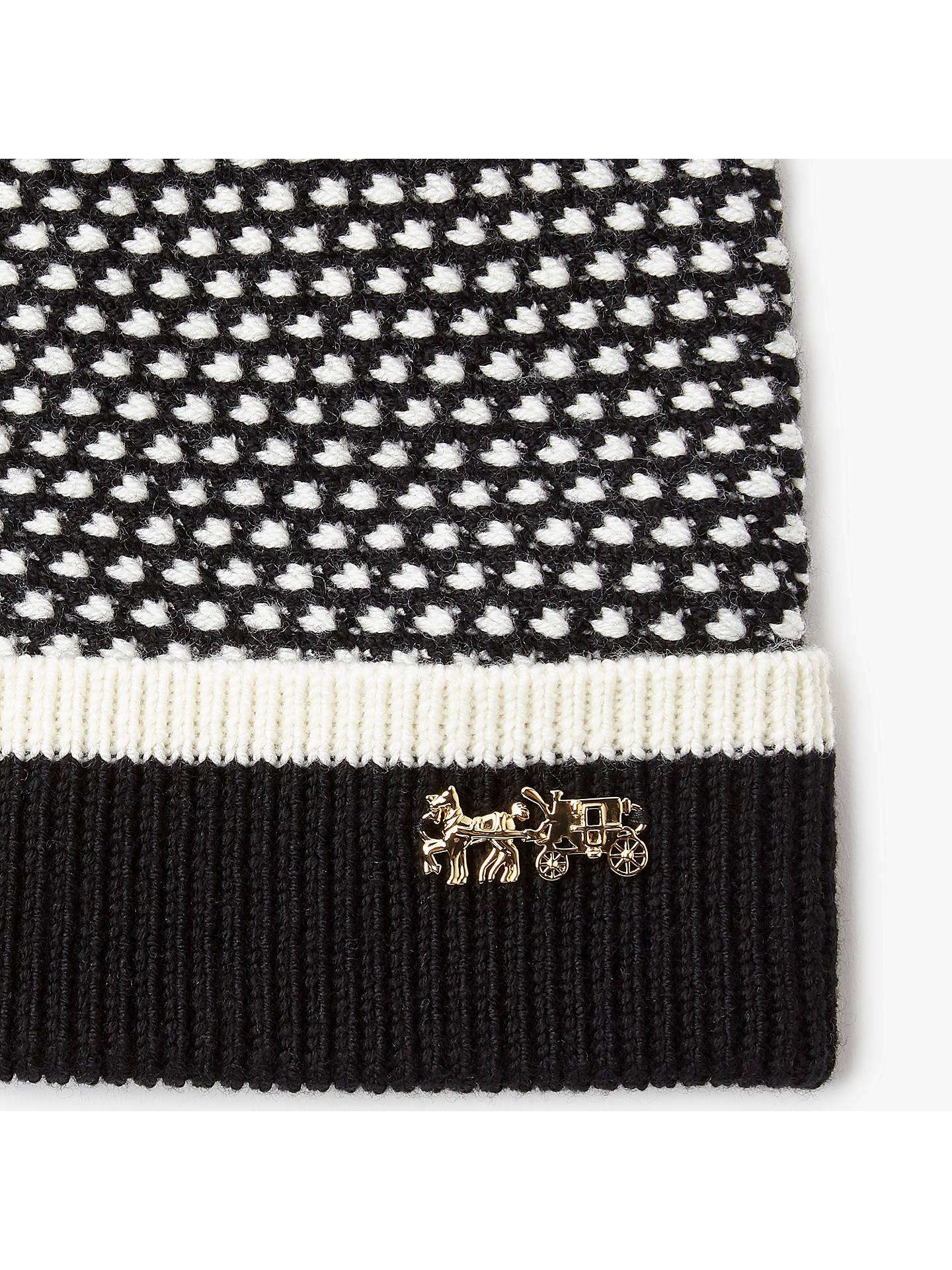 52a199a6923 BuyCoach Icon Wool Charm Hat