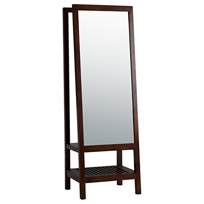 Willis & Gambier Kerala Leaning Mirror, Rich Cherry