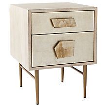 Buy Roar + Rabbit for west elm Jewelled 2 Drawer Bedside Table Online at johnlewis.com