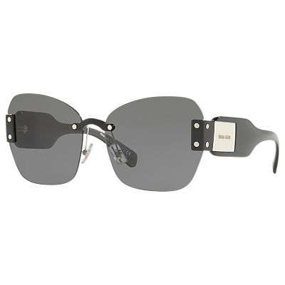 Miu Miu MU 08SS Oversize Cat's Eye Sunglasses