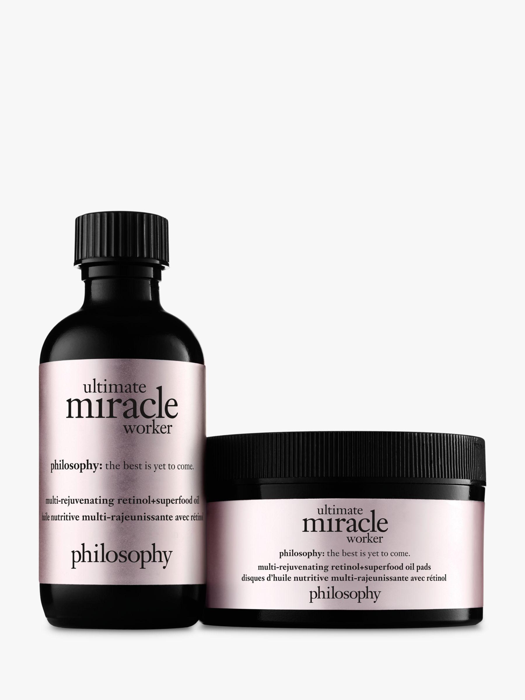 Philosophy Philosophy Ultimate Miracle Worker Multi-Rejuvenating Retinol+Superfood Oil with Pads