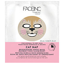 Buy Nails Inc Face Inc Cat Nap Brightening Sheet Mask Online at johnlewis.com