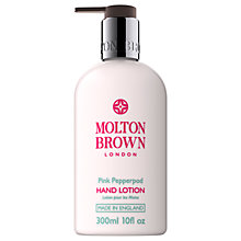 Buy Molton Brown Pink Pepperpod Hand Lotion, 300ml Online at johnlewis.com