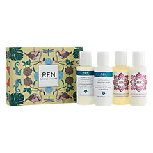 Buy REN Moroccan Rose Otto & Atlantic Kelp Mini Body Kit Online at johnlewis.com