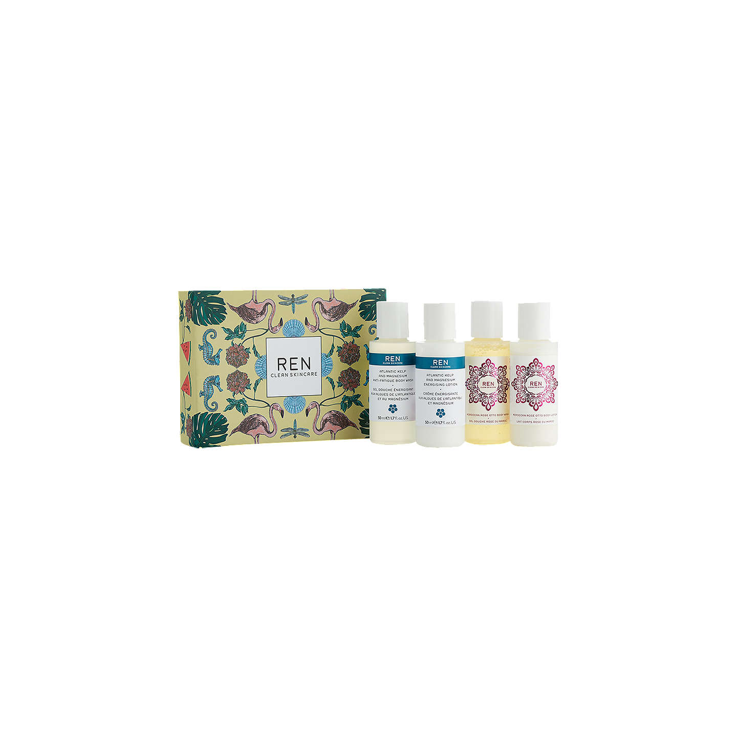 BuyREN Moroccan Rose Otto & Atlantic Kelp Mini Body Kit Online at johnlewis.com