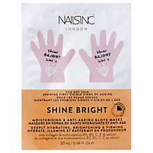 Buy Nails Inc Shine Bright Moisturising & Anti-Ageing Glove Masks Online at johnlewis.com