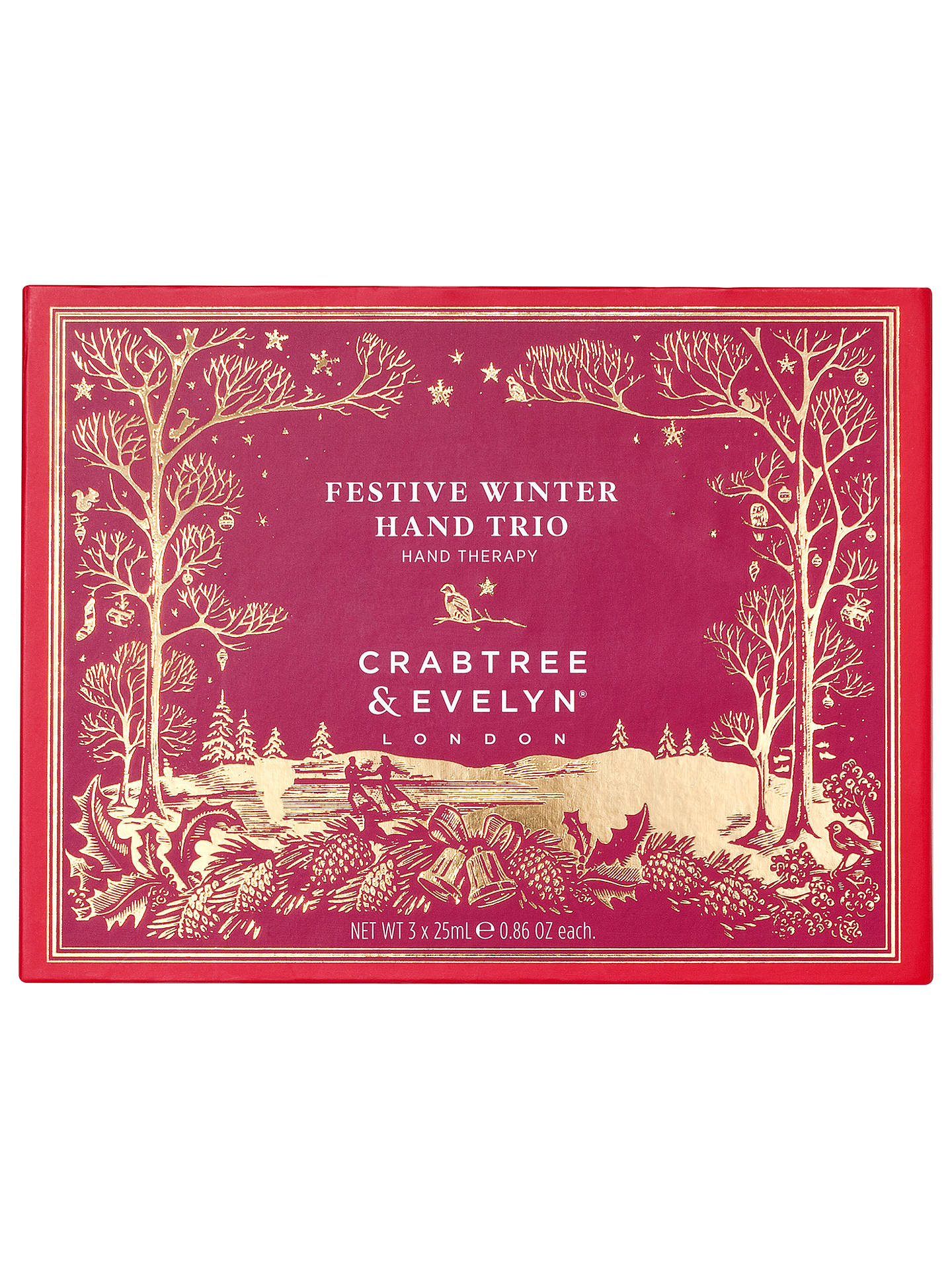 67ee5ebccf60 ... Buy Crabtree & Evelyn Festive Winter Handy Therapy Hand Trio Online at  johnlewis. ...