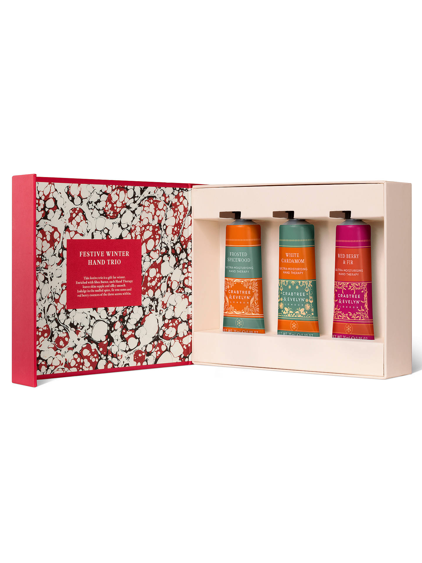be87d15499ee Buy Crabtree & Evelyn Festive Winter Handy Therapy Hand Trio Online at  johnlewis. ...