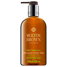 Buy Molton Brown Black Peppercorn Hand Wash, 300ml Online at johnlewis.com