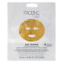 Buy Nails Inc Face Inc Gilt Tripper Exfoliating Sheet Mask Online at johnlewis.com