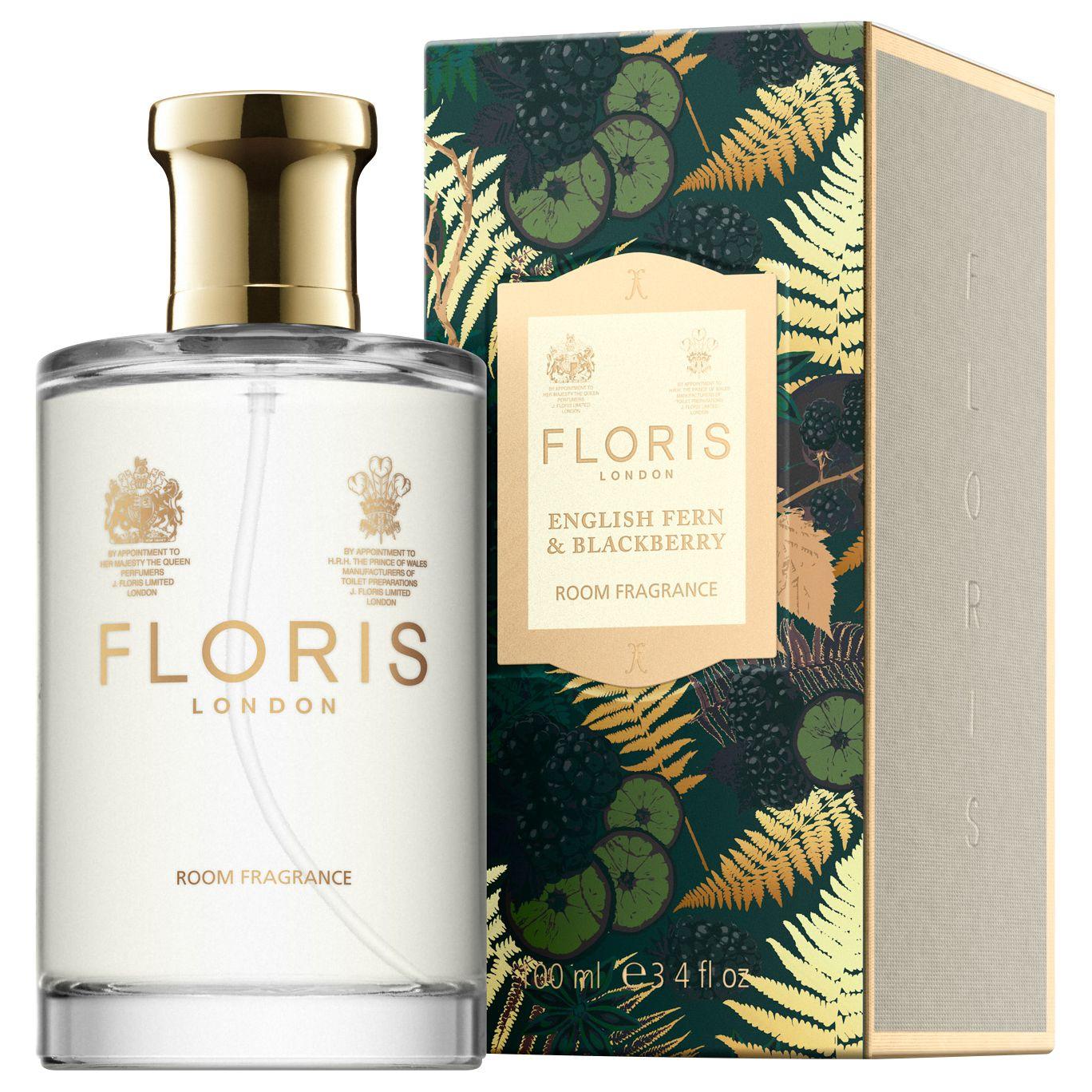 Floris Floris English Fern & Blackberry Room Fragrance, 100ml