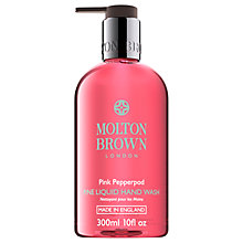 Buy Molton Brown Pink Pepperpod Hand Wash, 300ml Online at johnlewis.com