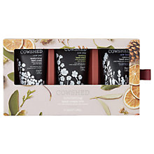 Buy Cowshed Nourishing Hand Cream Trio Gift Set Online at johnlewis.com