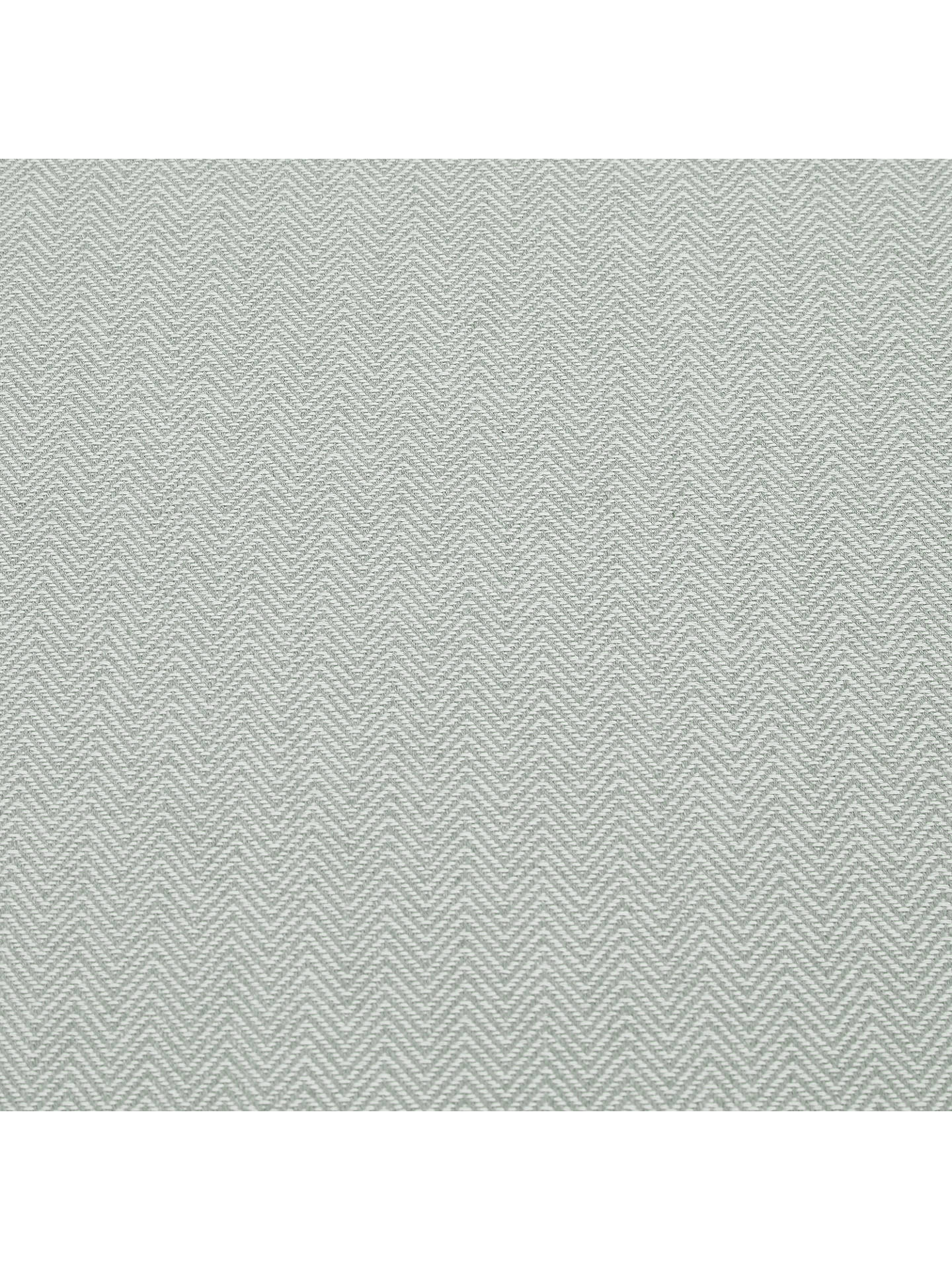 Buy Croft Collection Herringbone Furnishing Fabric, Nettle Green Online at johnlewis.com