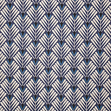 Buy John Lewis Clifton Furnishing Fabric, Indigo Online at johnlewis.com