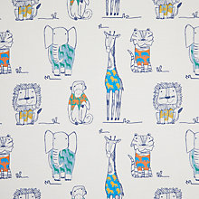 Buy little home at John Lewis Party Animals Rainforest Furnishing Fabric, Multi Online at johnlewis.com