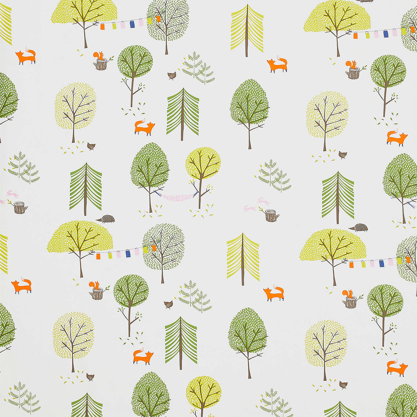 BuyJohn Lewis Camping Furnishing Fabric, Green Online at johnlewis.com