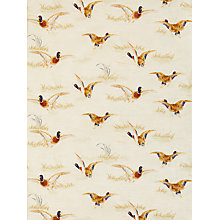 Buy John Lewis Country Ducks Furnishing Fabric, Natural Online at johnlewis.com