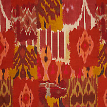 Buy John Lewis Theia Furnishing Fabric, Red Online at johnlewis.com