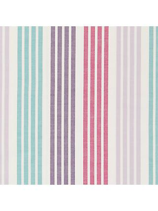 John Lewis & Partners Woven Stripe Furnishing Fabric, Multi