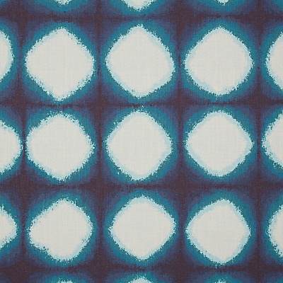 John Lewis & Partners Shibori Furnishing Fabric, Blue