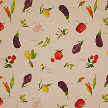 Buy John Lewis Villa Toscana PVC Tabelcloth Fabric, Multi Online at johnlewis.com