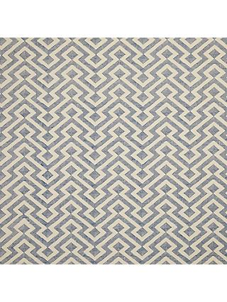 John Lewis & Partners Meeko Made to Measure Curtains, Indian Blue