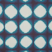 Buy John Lewis Shibori Curtain, Blue Online at johnlewis.com