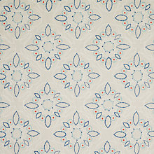 Buy John Lewis Kasmanda Curtain, Indian Blue Online at johnlewis.com