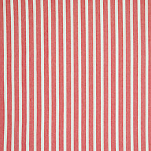 Buy John Lewis Solva Stripe Curtain, Red Online at johnlewis.com