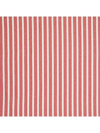John Lewis & Partners Solva Stripe Curtain, Red