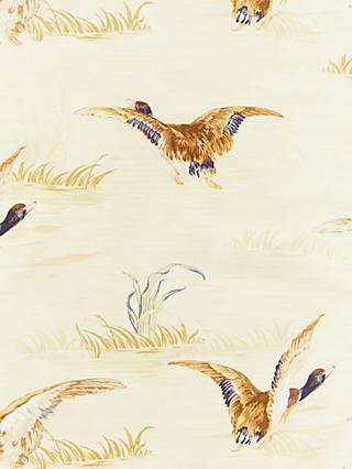 John Lewis & Partners Country Ducks Made to Measure Curtains, Natural