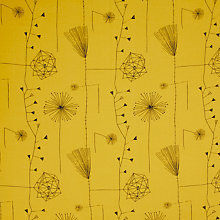 Buy Lucienne Day Dandelion Clocks Curtain, Mustard Online at johnlewis.com